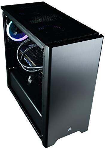 CUK Sentinel II VR Extreme Gaming PC i9-9900K, 32GB RAM, 1TB NVMe SSD 2TB HDD, NVIDIA RTX 2080 Ti 11GB, 750W PSU, Windows 10 The Best New VR Ready Tower Desktop Computer for Gamers Black