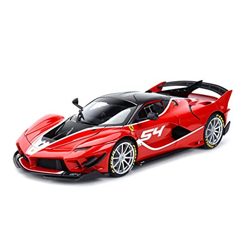 SXET-Model car Model Car Die-Casting Model Collection Model Decoration Alloy Model Car Gift Toy Car 1:18 Ferrari FXX K EVO Model ()