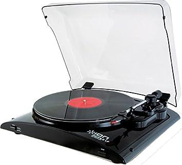 ION Audio PURE LP - Tocadiscos (230 V, corriente alterna ...