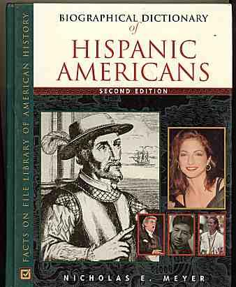 Download Biographical Dictionary of Hispanic Americans (Facts on File Library of American History) PDF