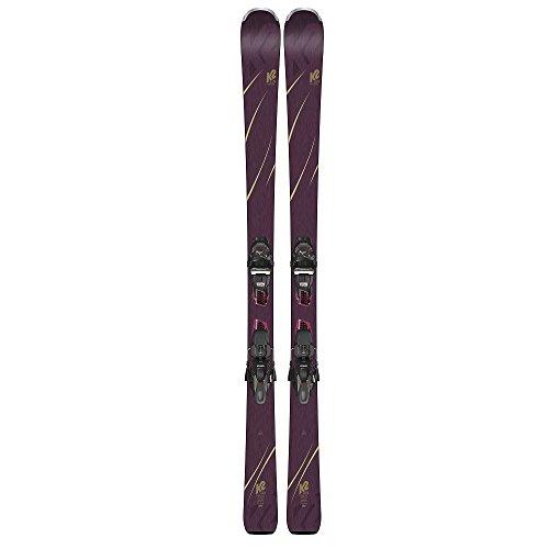 K2 2019 Tough Luv 153cm Womens Skis w/ERC 11 TCX Light Bindings