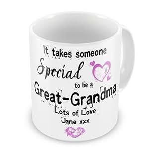Alguien especial personalizada It Takes A Be A gran-abuela taza