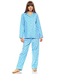 MarCielo Women's Sleepwear 100% Cotton Pajama Set for Women