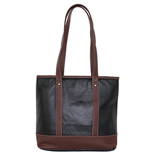 Concealed Carry Gun Purse – Double Handled Leather Tote by Roma Leathers
