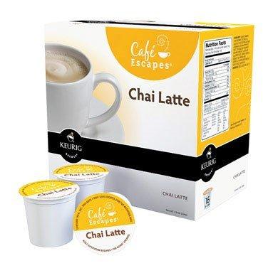 Keurig K-Cups Caf? Escapes Chai Latte