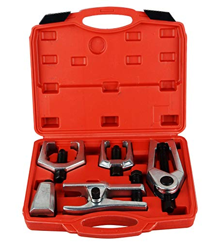 Good concept 5pcs Front End Service Tool Kit Ball Joint Tie Rod Set Pitman Arm Puller Remover ()