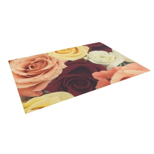 kess-inhouse-libertad-leal-vintage-roses-outdoor-floor-mat-rug-5-by-7-feet