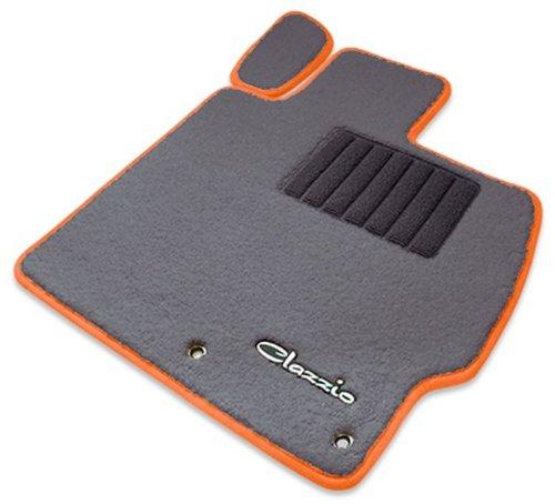 クラッツィオ ( Clazzio ) 【 フロアマット 】 ホンダ N-BOX プラス / N-BOX プラス カスタム 【1列目+2列目セット】 (グレー×ダークグレー×オレンジ) EH-0319-Y901-GYO B00TYFOL20 オレンジ オレンジ