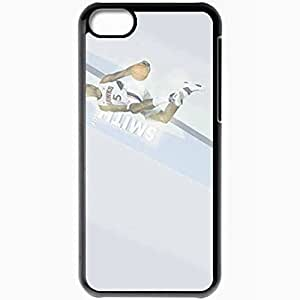 Personalized For Iphone 6 4.7 Inch Case Cover Cell phone Skin 14856 hawks wp 24 sm Black