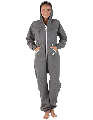 Joggies - Onepiece Footless Gray Onesies for Kids (Kids Adventure Time Onesie)