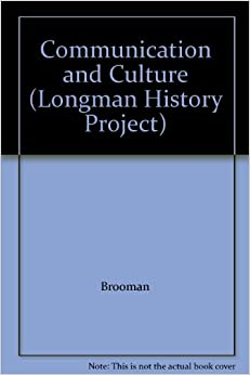 Book Communication and Culture (Longman History Project)
