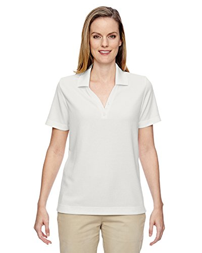 Ash City - North End Ladies' Excursion Nomad Performance Waffle Polo, XS, CRYST QRTZ 695 ()