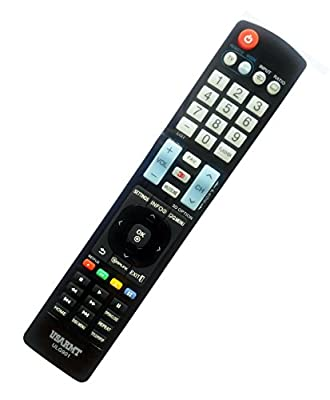 NEW LG Universal TV&DVD Blu-ray Player Remote Fit for 99% LG Plasma LCD LED 3D TV & DVD Blu-ray Player, replace AKB72914207 AKB72915238 AKB72915206 . No need to set up, easy to USE!