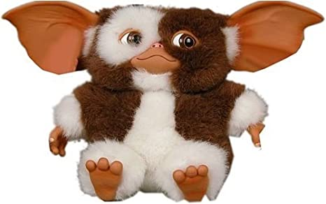 NECA 634482306307 Gremlins Dancing Gizmo Plush, Large & AmazonBasics AA Performance Alkaline Batteries [Pack of 8] Packaging May Vary