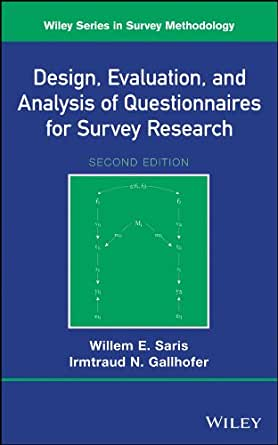 questionnaires in research methodology This article shows a sample questionnaire with insert notes for every section.
