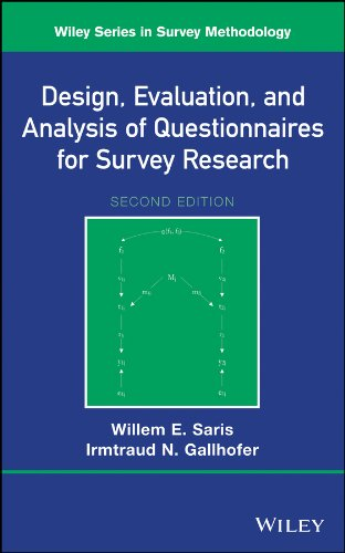 Design, Evaluation, and Analysis of Questionnaires for Survey Research (Wiley Series in Survey Methodology) (The Practice Of Survey Research Theory And Applications)
