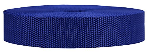1 Repair Kit Gears (Strapworks Heavyweight Polypropylene Webbing - Heavy Duty Poly Strapping for Outdoor DIY Gear Repair, 1 Inch x 25 Yards - Navy Blue)