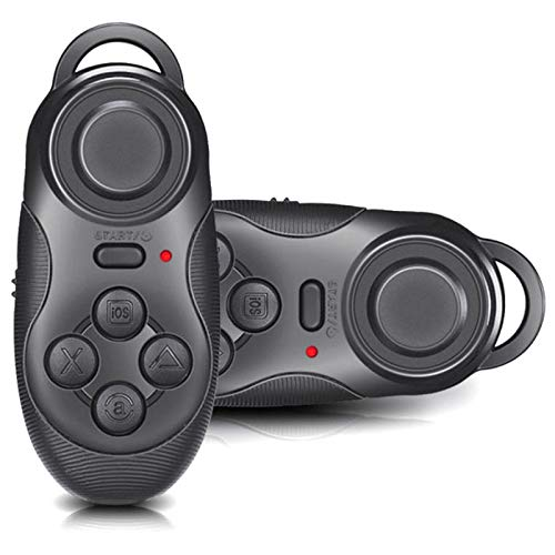 DOMO MagicKey BC1 Gaming Joystick, Gamepad and Bluetooth Controller for All Computers, Laptops, Mobiles, Tablet PC's and VR Headset – Black