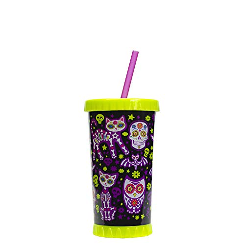 Cool Gear Halloween Tumblers (Cool Gear 16 Oz Light Up Halloween Tumbler)