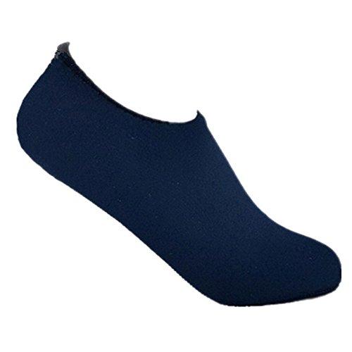 Schuhe für Yoga OverDose Aqua Barefoot Skin Navy Unisex Strandschwimmen Socken Surf Water Übung IIpZa0
