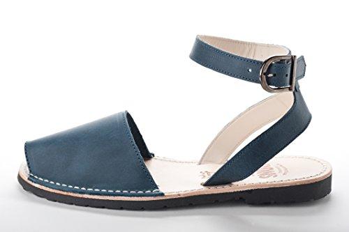 Pons 521 - Cinturino Stile Avarca Classico Blu Francese