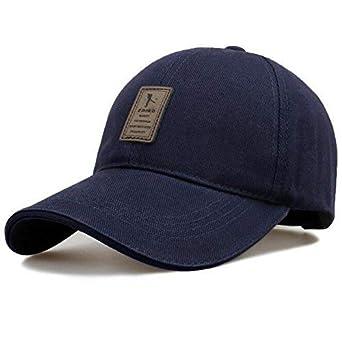 8bb7f0551eff SHVAS Cotton Baseball Adjustable EDIKO Cap for Men Women Unisex Baseball Cap   EDIKONAVY  Black  Amazon.in  Clothing   Accessories