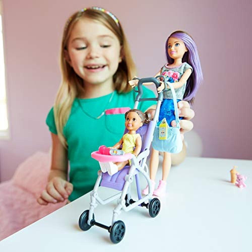 Skipper Playsets Babysitters Inc. Doll Stroller Toys ...