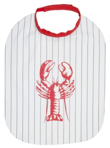 Now Designs Striped Apron (Now Designs Lobster Bib)