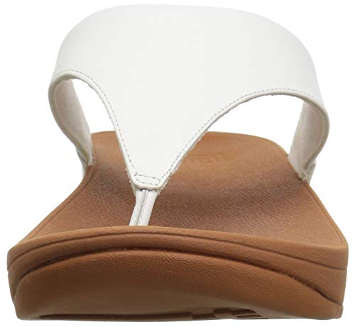 Fitflop Infradito White Leather Toepost Bianco urban Donna Lulu tqx8tw1r