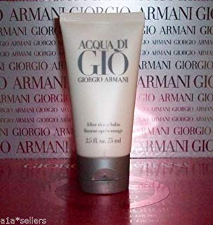 Giorgio Armani ACQUA DI GIO After Shave Balm Men 2.5oz/75mL New No Box! (Best New Mens Aftershave)