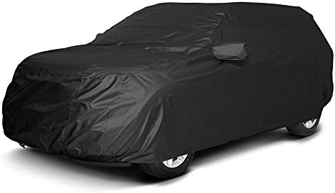 Xtrashield Custom Fit 2008-2019 Toyota Highlander SUV Car Cover Black Covers