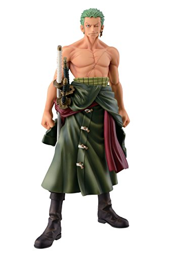 Banpresto One Piece 10.2″ Zoro Figure, The Roronoa Zoro