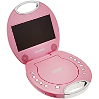 SYLVANIA SDVD7046-PINK 7 Portable DVD Players with Integrated Handle (Pink)