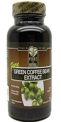 100% Pure Green Coffee Bean Extract, Pure & Natural