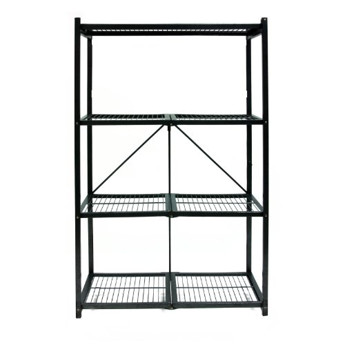 Origami R5-01 General Purpose 4-Shelf Steel Collapsible Storage Rack, Large by Origami