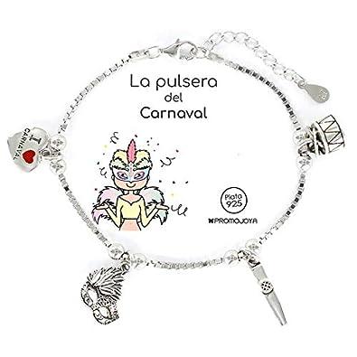 Eres lo mas mujer Pulsera del Carnaval Plata