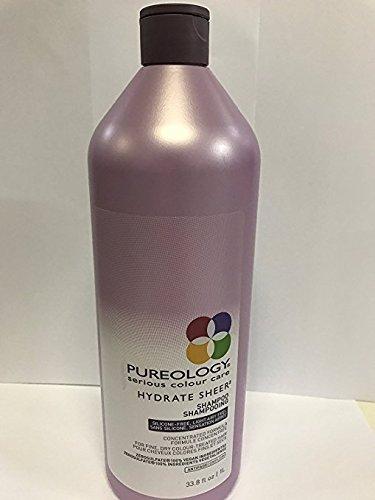[Pureology Hydrate Sheer Shampoo 33 oz] (Pureology Extra Gentle Shampoo)
