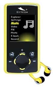 "Sytech SY-7834A lector y grabador de MP3 - Reproductor MP3 (Azul, 4 GB, LCD, 4,57 cm (1.8""), MP3, WMA, AVI)"