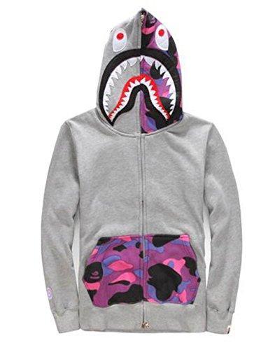 - Scarlett Mens Hoodies Ape Bape Sweatshirt Fashion Outdoor Tracksuit Casual Hip-Hop Funny Coat