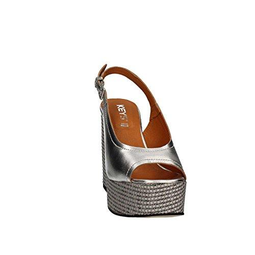 Sandaler Taster Høyhælte 5261 Sølv Kvinner xfqZ0YqwC