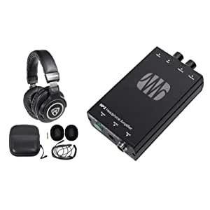 presonus hp2 2 channel stereo headphone amplifier system hp 2 free headphones. Black Bedroom Furniture Sets. Home Design Ideas