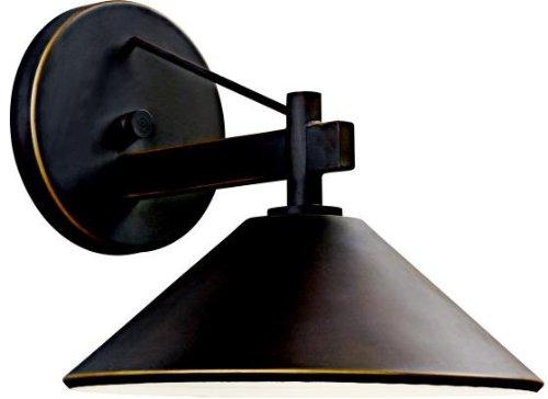 - Kichler 49060OZ Ripley Indoor/Outdoor Wall 1-Light, Olde Bronze