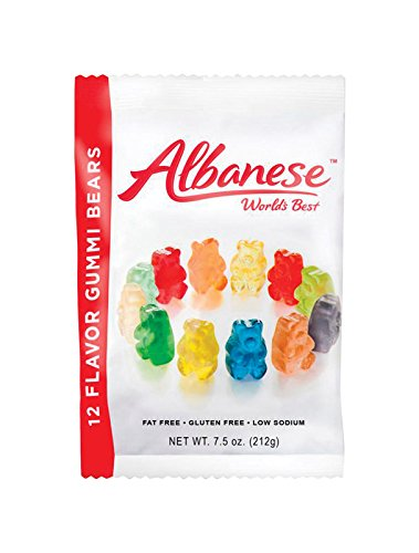 12 Flavor Gummi Bears - 12 Ct. Case