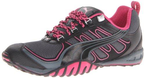 Puma Mujeres Fells Trail Running Zapato Turbulencia / Negro / Remolacha Púrpura