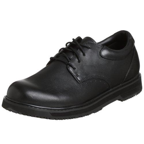 Propet Men's MSR003 Maxigrip Slip Resistant Shoe,Black,14 5E US