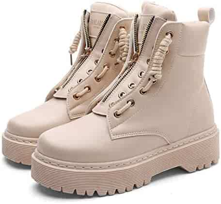70cd3acdf126d Shopping TingGuoShop - Beige - Boots - Shoes - Women - Clothing ...