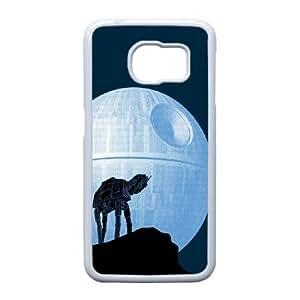 Well Design Samsung Galaxy S6 Edge phone case - design with Death Star pattern