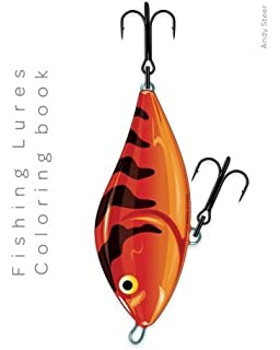 Amazon Gone Fishing A Coloring Book For Adults Full Of