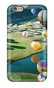 Iphone 6 Air Balloon Festival Print High Quality Tpu Gel Frame Case Cover
