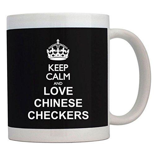 Chinese Love Checkers - Fuuny Coffee Mugs Keep calm and love Chinese Checkers Mug